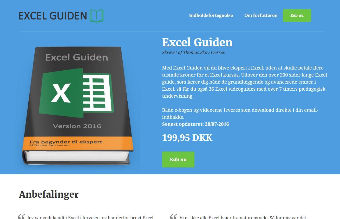 Excel guiden